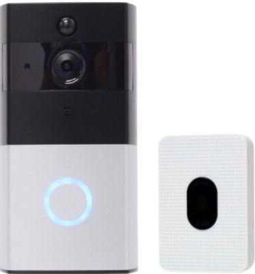 ENS VD-KIT01 1.3MP Wireless Video Doorbell & Receiver, Resolution 1280x720, 6 Hidden Infrared Light, Audio In/Out, 166° View Angle, Built-In 8G Memory, 2 Rechargeable Batteries, Supports 802.11 b/g/n, Instant Notifications Within 2 Sec., Within 600ms Wake Up Time (ENSVDKIT01 VDKIT01 VD-KIT-01 VD KIT01)