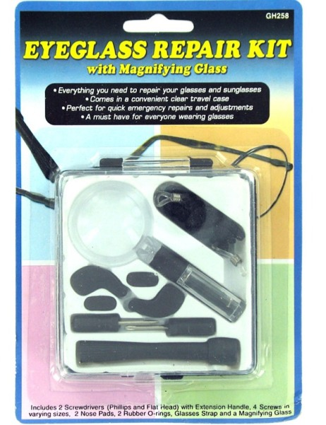 Eyeglass Repair Kit Instructions : EOSK GH258 eyeglass repair kit, 0.187 lbs. UPC ...