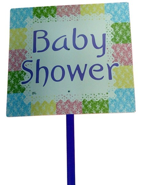 eosk kj639 vintage nursery baby shower yard sign lbs upc