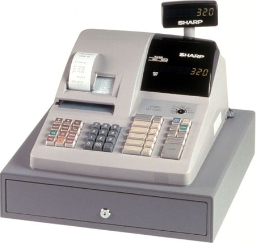 Sharpera320c on cash register keys