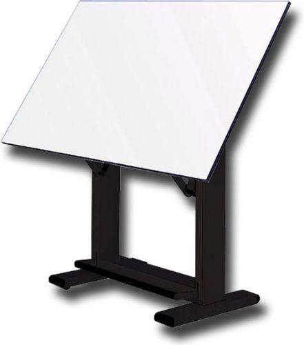alvin et72 3 elite drafting table black base with 37 5 x72
