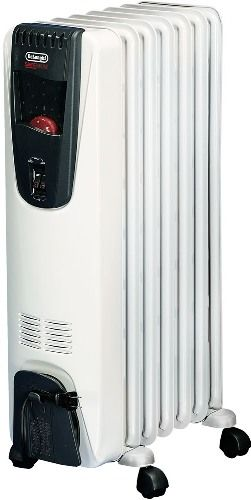 Delonghi Ew6507w Safeheat Portable Oil Filled Radiator