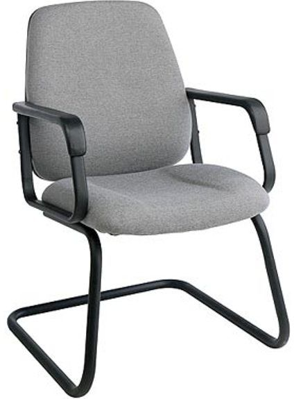 Office Star�EX2655 Conference/Visitors Chair, Contoured Seat and Back, Built in Lumbar Support, Pneumatic Seat Height Adjustment, Locking Tilt Control with Adjustable Tilt Tension, Comfortable