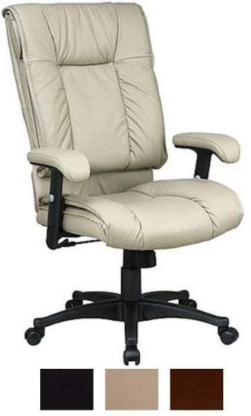fice StarEX9382 Deluxe High Back Executive Leather Chair