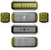 Green Mini Speaker Dreamwave TREMOR Bluetooth 4.0 aptX Portable 50W Speaker