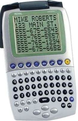 royal extreme 7 personal electronic organizer pda with 2mb memory