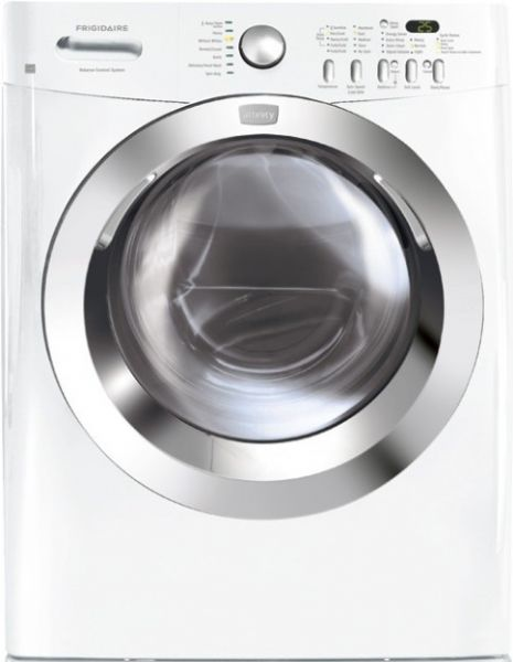 frigidaire affinity washer clean cycle