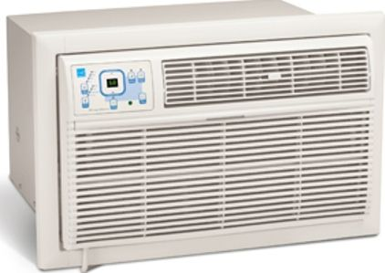 Frigidaire FAH106S2T Through the Wall Air Conditioner, 10,000 BTU, 220 Volt 15 Amp Dedicated Circuit Power Requirements, 4.9 Amps Amperage, 9.4 EER Energy Efficiency Ratio, 24 Hour Start/Stop Timer Automatic Timer, 3 Cooling Speeds, 3 Fan Speeds (FAH 106S2T FAH-106S2T FAH106S2 FAH 106S2 FAH-106S2)