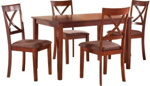 FATTO-DINING-TABLE-4-CHAIRS Fatto Dining Table with 4 Back Chairs ...