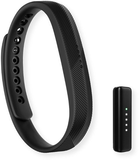 Fitbit FB403BK Flex 2 Wristband; Black; Track steps, distance, calories burned, active minutes, hourly activity stationary time; LED display lights up when you get calls, texts and Reminders to Move, and shows you how close you are to your daily goal; Smartphone Notifications; Sync stats wirelessly and automatically to computers; UPC 810351028888 (FB403BK FB-403BK FB403BK-FITBIT FB403BK FLEX-2 FB403BK-FLEX 2 FB403BK-WRIST-FLEX2)