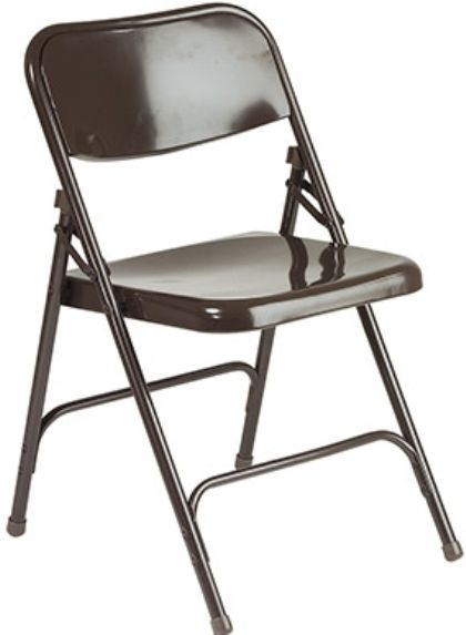 Awesome Office Star FC23 1 Metal Folding Chairs, All Metal Tubular Frame, Double  Hinged