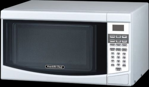 Small Countertop Microwave Dimensions : Franklin Chef FC700W Compact Countertop Microwave, Arctic White, 0.7 ...