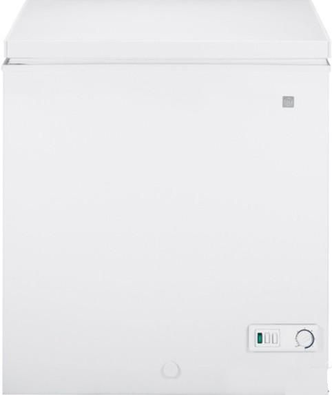 GE General Electric FCM5SUWW Chest Freezer, 5.0 cu. ft. Total Volume