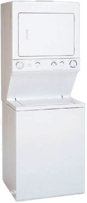 Frigidaire FEX831FS Washer/Dryer Laundry Center, Extra-Large Capacity Wash Tub 2 Agitate/Spin Speed Combinations 3-Position Water Level, Adjustment Bleach Dispenser, Replaced FEX831ES FEX831DS FEX831CS FEX831BS FEX831AS (FEX-831FS FEX831-FS FEX831F FEX831 FEX-831)