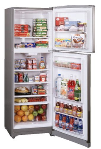 summit ff1325ss frost free top mount apartment size refrigerator 11 0