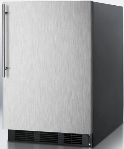 Summit FF6BBISSHV Undercounter All Refrigerator With Stainless Steel Door And