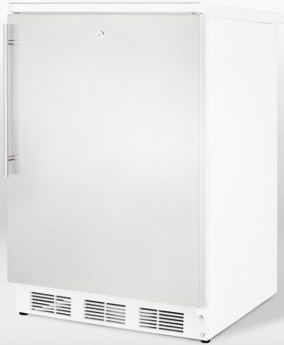 Summit FF6LSSHV Freestanding All Refrigerator With Automatic Defrost Stainle