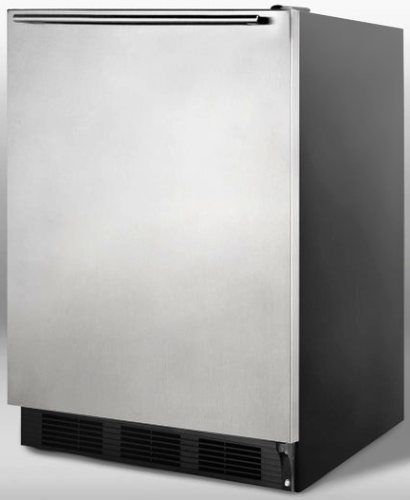 Summit FF7BSSHH Commercially Approved Freestanding All Refrigerator With Stai