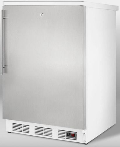 Summit FF7LPUBSSHV Commercially Approved All Refrigerator For Red Wine And Al