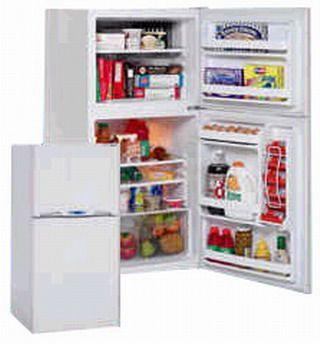avanti ff801w 80 cu ft mid size frost free in white - Avanti Appliances