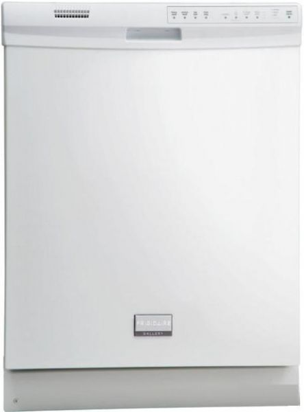 Frigidaire fgbd2431kw gallery series full console dishwasher with 14 frigidaire fgbd2431kw gallery series full console dishwasher with 14 place settings 4 wash cycles low rinse aid indicator 5 wash levels slimline control publicscrutiny Image collections
