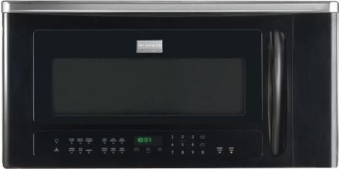 Frigidaire Fgbm185kb Gallery Series Over The Range Microwave Oven With 350 Cfm Venting System 1 8 Cu Ft Capacity 9 Auto Cook Options 7 User Preference