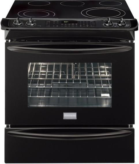 Frigidaire Fges3065kb Gallery Series Slide In Smoothtop