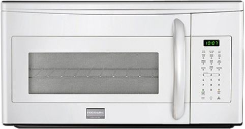 Frigidaire Fgmv173kw Gallery Series Over The Range Microwave With 1 000 Watts 1 7 Cu Ft