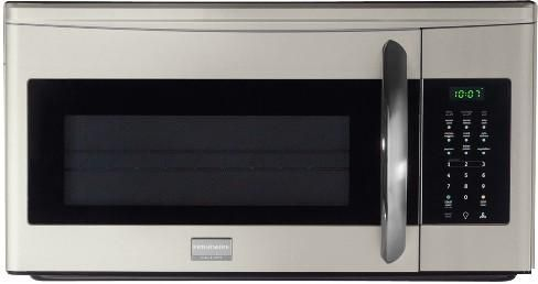 Frigidaire Fgmv174km Gallery Series Over The Range Microwave With 1 000 Watts 1 7 Cu Ft