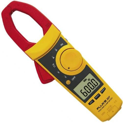 Voltage Clamp Meter : Fluke true rms clamp meter large jaw measures ac dc