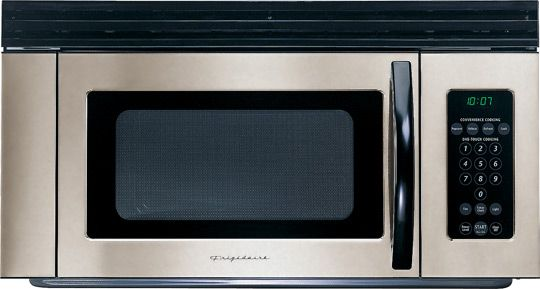 Frigidaire Fmv156em Over The Range Microwave Oven 1 5 Cu Ft Eleven Variable Levels