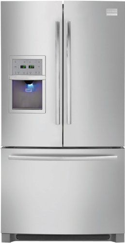frigidaire fphb2899lf series 278 cu ft french door stainless steel spacewise system best in class ice u0026 water