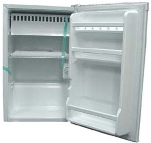 Daewoo FR093 Compact and Slim Refrigerator, 220-240 Volt 50Hz, 90L - 2.08 Cu.Ft. Compact Refrigerator with Drain Pan for easy Defrost, Control Box, Rack for Butter, eggs and small size goods, Magnetic door seals, Ice cube Tray, Bottle Rack (FR-093 FR 093)