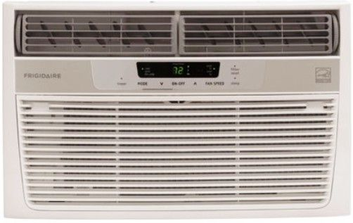 Frigidaire fra065at7 window mounted mini compact room air for Small 1 room air conditioner