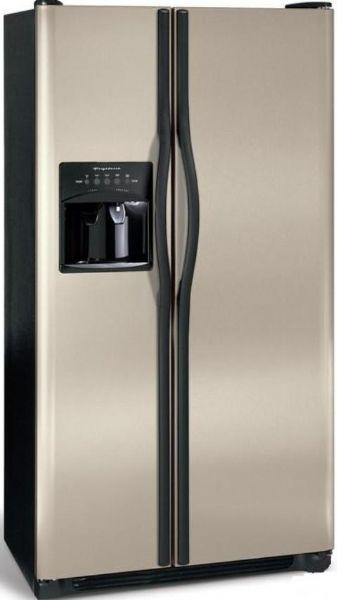 Ft. Capacity, 16 Cu. Ft. Fresh Food Capacity, 9 Cu. Ft. Freezer Capacity,  Adjustable Front Rollers, Black Toe Grille, Short Silver Mist Door Design,  ...