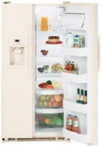 frigidaire frs6hr5hq standard depth 26 cu ft side by side refrigerator