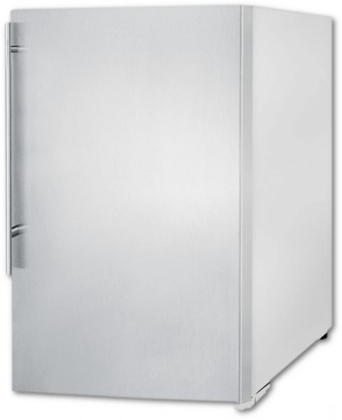 Summit FS603SSVH Slim Counter Height Household All Freezer With Stainless  Steel Door, White Cabinet, 5.0 Cu.ft. Capacity In Slim 22 Inch Width, ...