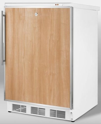 Summit FS62LFR Freestanding All Freezer Capable Of 25C Operation White Exte