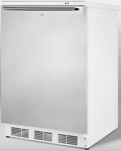 Summit FS62LSSHH Freestanding Counter Height All Freezer Capable Of 25C Oper