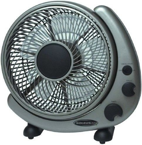 Soleus Air Ft 25 A Table And Wall Mount Fan 10