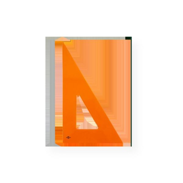 Alvin FT390-12 Fluorescent Triangle 30/60 degrees 12