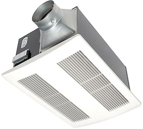 Heat Duct Blower : Panasonic fv vh whisperwarm cfm ceiling mounted fan