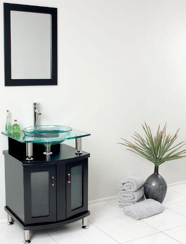 Fresca FVN3312ES Contento 24quot; Espresso Modern Bathroom Vanity with