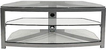 Omnimount G 353 Black Stellar Series 50 3 Shelf Tv Stand Integral