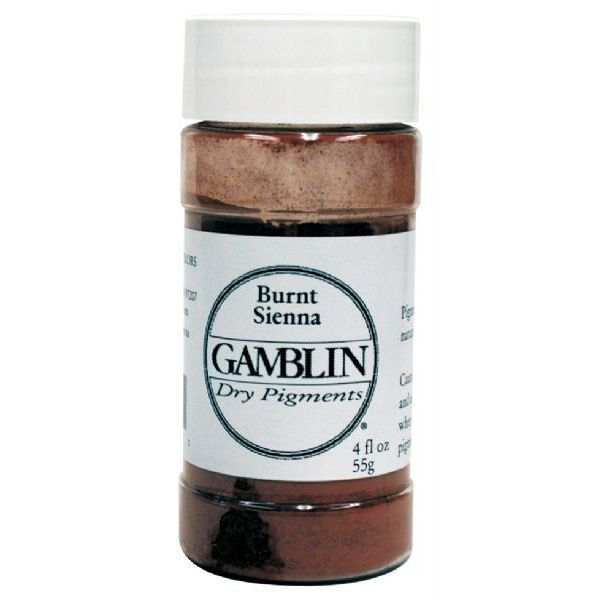 Gamblin G8620, Dry Pigment 47g Raw Umber; The same pure pigments used to make Gamblin oil colors in dry pigment format; Each color retains the unique characteristics of the pigment, including tinting strength, understone, and texture; Make your own watercolors, acrylics, and even oil paints by mixing your own colors with the appropriate binders and mediums; Dimensions 1.75