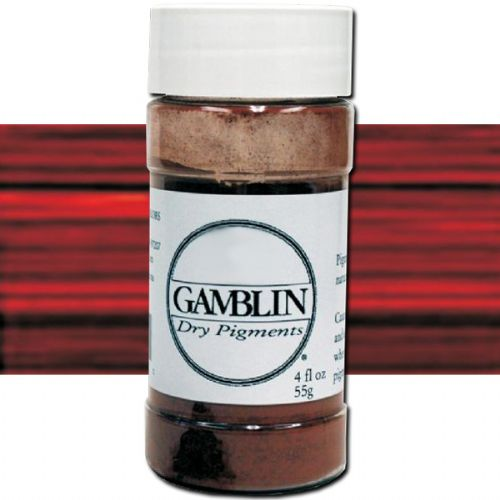 Gamblin G8682 Dry Pigment 85G Transparent Earth Red; The same pure pigments used to make Gamblin oil colors in dry pigment format; Each color retains the unique characteristics of the pigment, including tinting strength, understone, and texture; Make your own watercolors, acrylics, and even oil paints by mixing your own colors with the appropriate binders and mediums; Dimensions 1.75