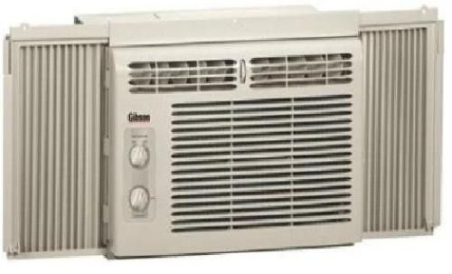 Gibson gax052p7a compact air conditioner 5 000 btu for 110 window unit