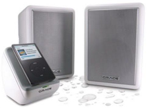 grace digital audio gdi scn300w schooners outdoor wireless. Black Bedroom Furniture Sets. Home Design Ideas