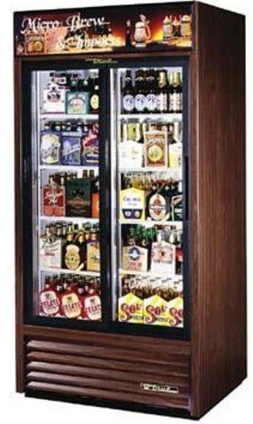 True Gdm 33 Glass Door Refrigerator Slide Door 33 Cuft 2