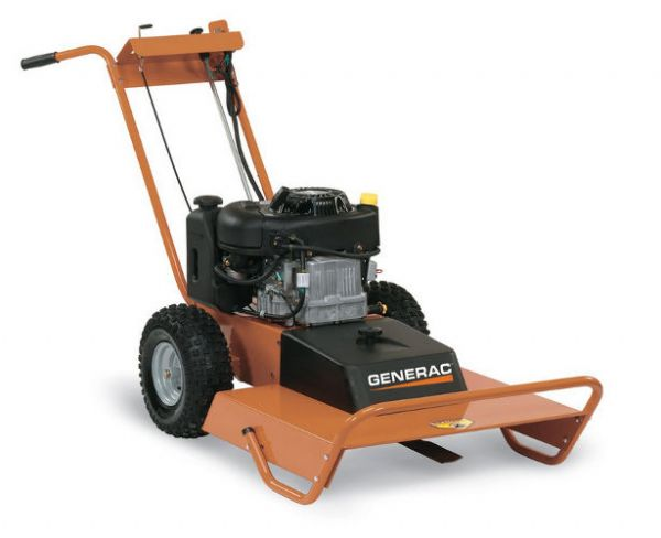 Generac FBM13GMNTDKAOF3, 26-Inch Gas Powered Field and Brush Mower, 50 State and CSA Compliant, Black and Orange; UPC GENERACFBM13GMNTDKAOF3 (GENERACFBM13GMNTDKAOF3 GENERAC-FBM13GMNTDKAOF3 GENERAC FBM13GMNTDKAOF3 GENERAC-FBM-13GMNTDKAOF3 GENERAC FBM 13GMNTDKAOF3 GENERAC/FBM13GMNTDKAOF3)